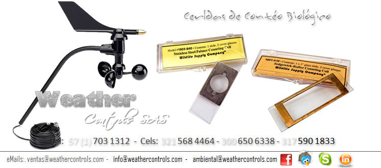Weather Controls Celdas para Conteo Biologico